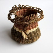 #557 Twined basket