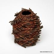 Pine needle basket #516  $125