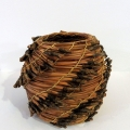 Pine needle pot #144 - sold