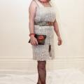 "Anne Daniel modelling entry ""Wrap Dup"""