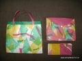 Upcycled plastic bags