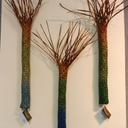 Nikau trio $80 each, $225 for three; available in colours of your choice