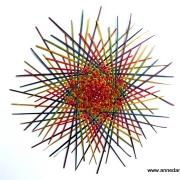 Starburst - rainbow #445