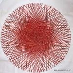 Emanation - large red/orange - sold